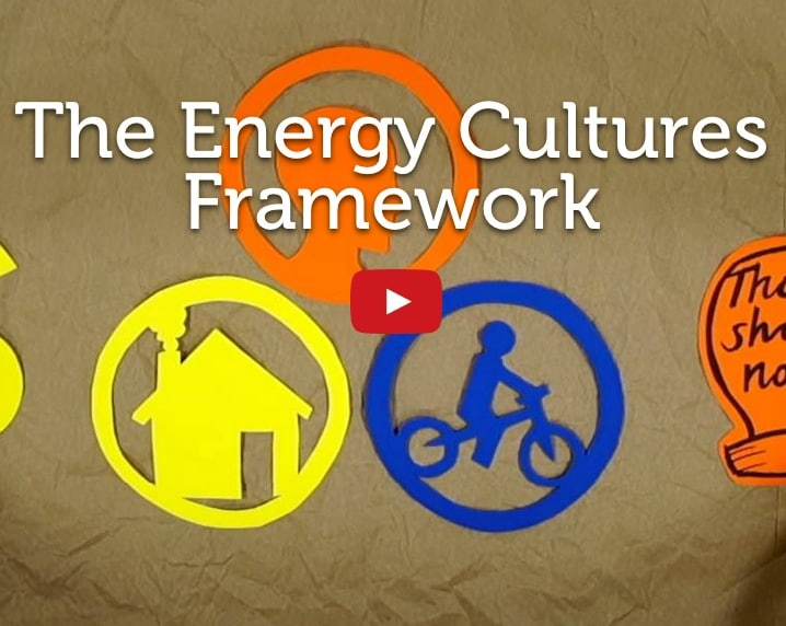 Energy Cultures Framework Youtube Video